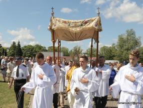 Boże Ciało - Sokołów Podlaski - 5 czerwca 2017 (fot. R. Romaniuk)