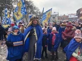 Orszak Trzech Króli - Sokołów Podlaski 6 stycznia 2019