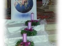 Konkatedra - dekoracja adwentowa 2014