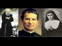 św. Honorat Koźmiński, św. Jan Bosco, św. Dominika Mazzarello