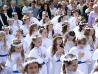 Pierwsza Komunia Św. - Konkatedra Sokołów Podlaski - 22.05.2016 (Fot. Waldemar Krupa)