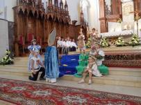 Gdzie chrzest tam wiara. Montarz sł-muz. Przedszkola Sióstr Salezjanek - 05.06.2016